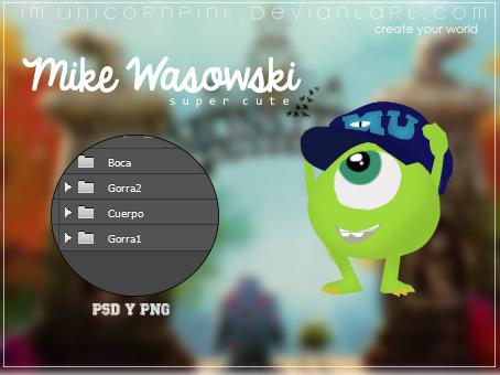 MikeWasowski - ImUnicornPink by ImUnicornPink