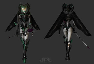 Malejest Walk Cycle ( COMMISSION ) by JPL-Animation
