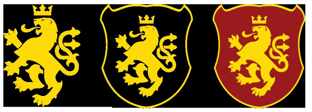 Golden Lion of Macedonia - VECTOR by Calkino