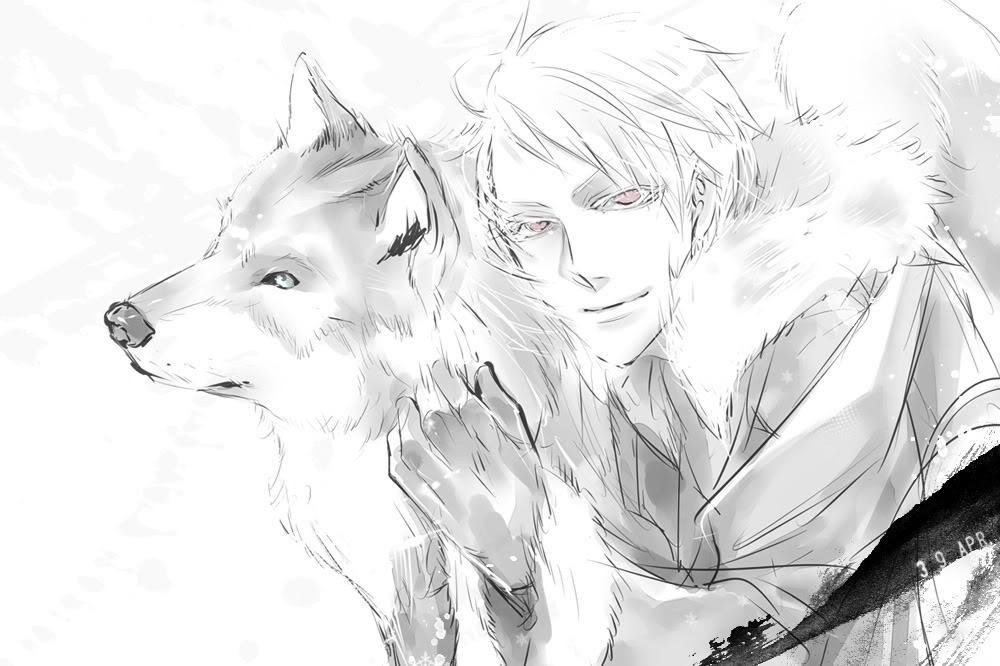 Wolf Shape-Shifter!Prussia x Slave!Reader Ch  1 by bleachLover501 on