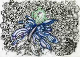 Doodle Nr.21#FreeButterfly by AliDraw