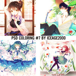 PSD Coloring #7 by IceAge-DA