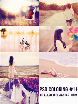 PSD Coloring #11