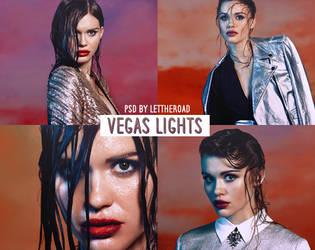 PSD 02 - Vegas Lights by LetTheRoad