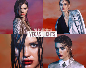 PSD 02 - Vegas Lights