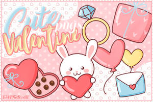 PNG - Cute Valentine by LetTheRoad