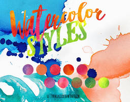 STYLES - Watercolor by LetTheRoad