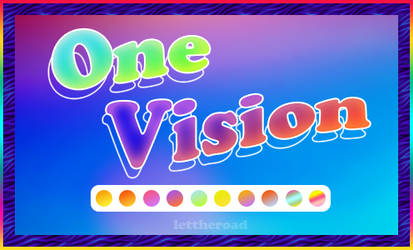 STYLES - One Vision