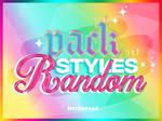 STYLES - Pack Styles Random by LetTheRoad
