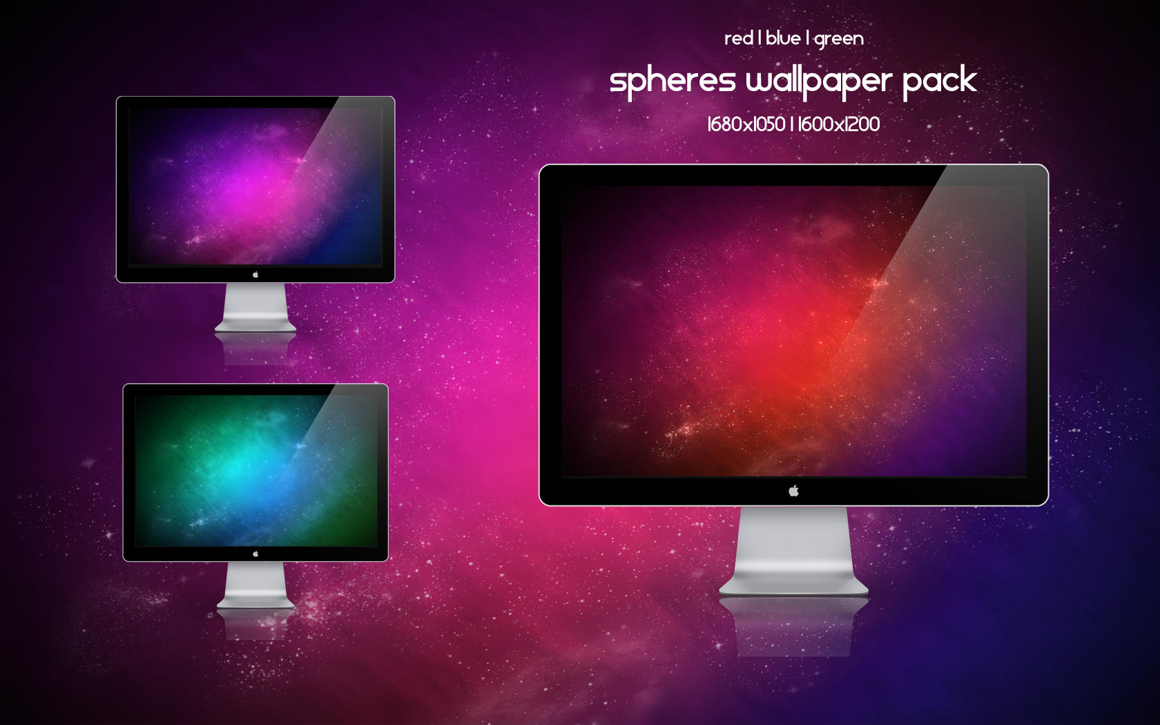 spheres wallpaper pack by tahnee-r