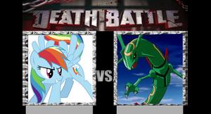 Death-Battle idea: Rainbow-Dash Vs. Rayquaza
