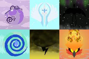Skybox symbols