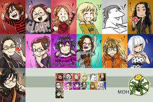 ikonki MDH by Megan-Uosiu