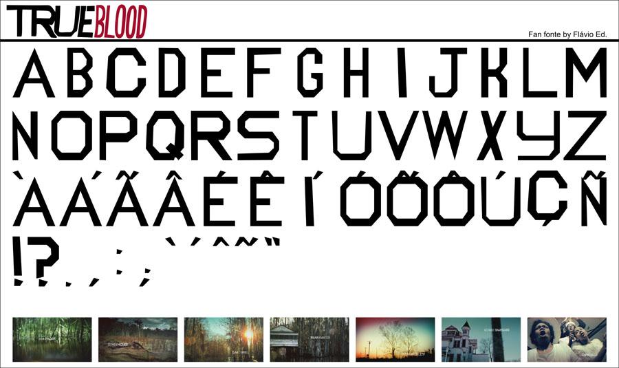 True Blood Fan Font by RamaelK