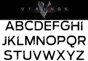Vikings Fan Font by RamaelK