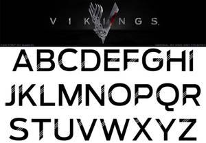 Vikings Fan Font