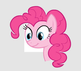 Pinkie Pie Looks at your soul Main Vector