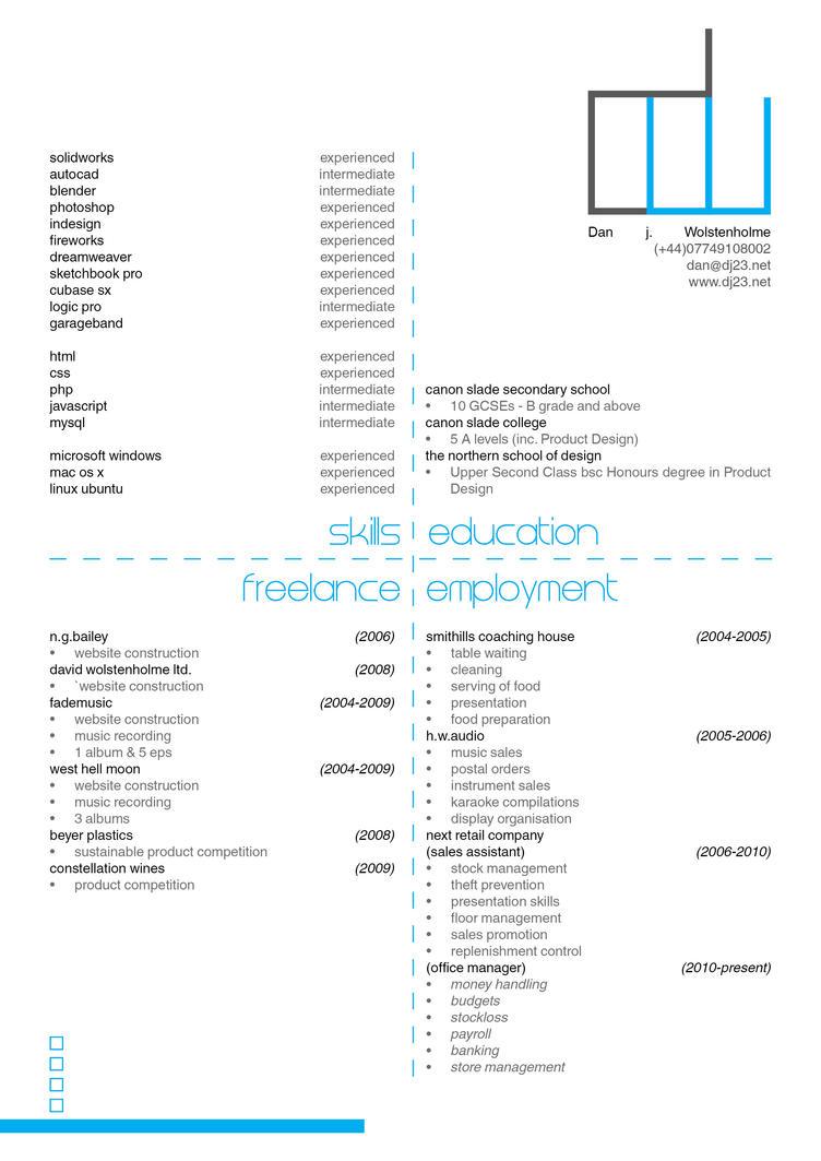 Resume by Dj23