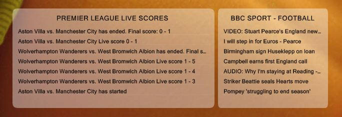 Live Soccer (Football) Scores 1.1 by Dj23