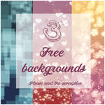 3 Free Backgrounds