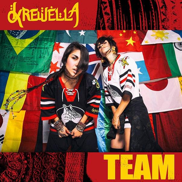 Team   Krewella   Single by KarenIloveBTR