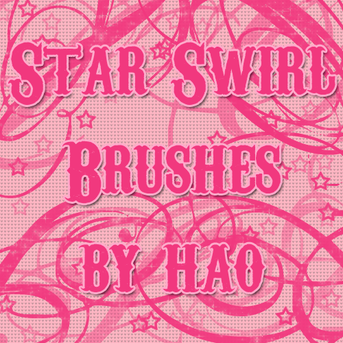 Star Swirl 3 Brushes by hao08
