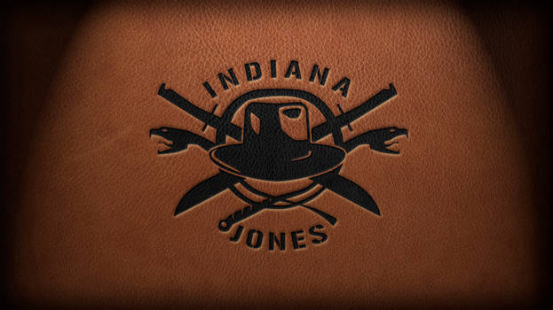 New Indy Logo on Leather