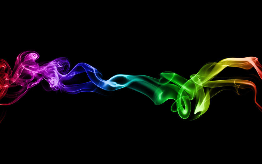 Rainbow Smoke by al-xx