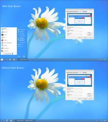 Windows 8 RTM Theme for XP by nasrodj