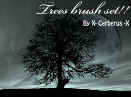 Trees brush set by X-Cerberus-X