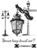 Street lamps brush set by X-Cerberus-X