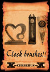 Clock brushes