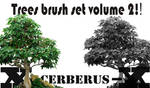 Trees brush set volume 2