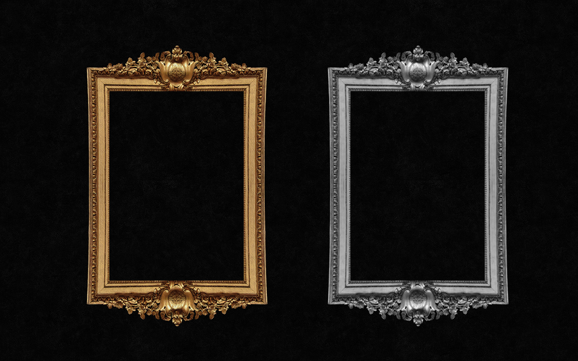 Decorative antique frame by Ronnan on DeviantArt
