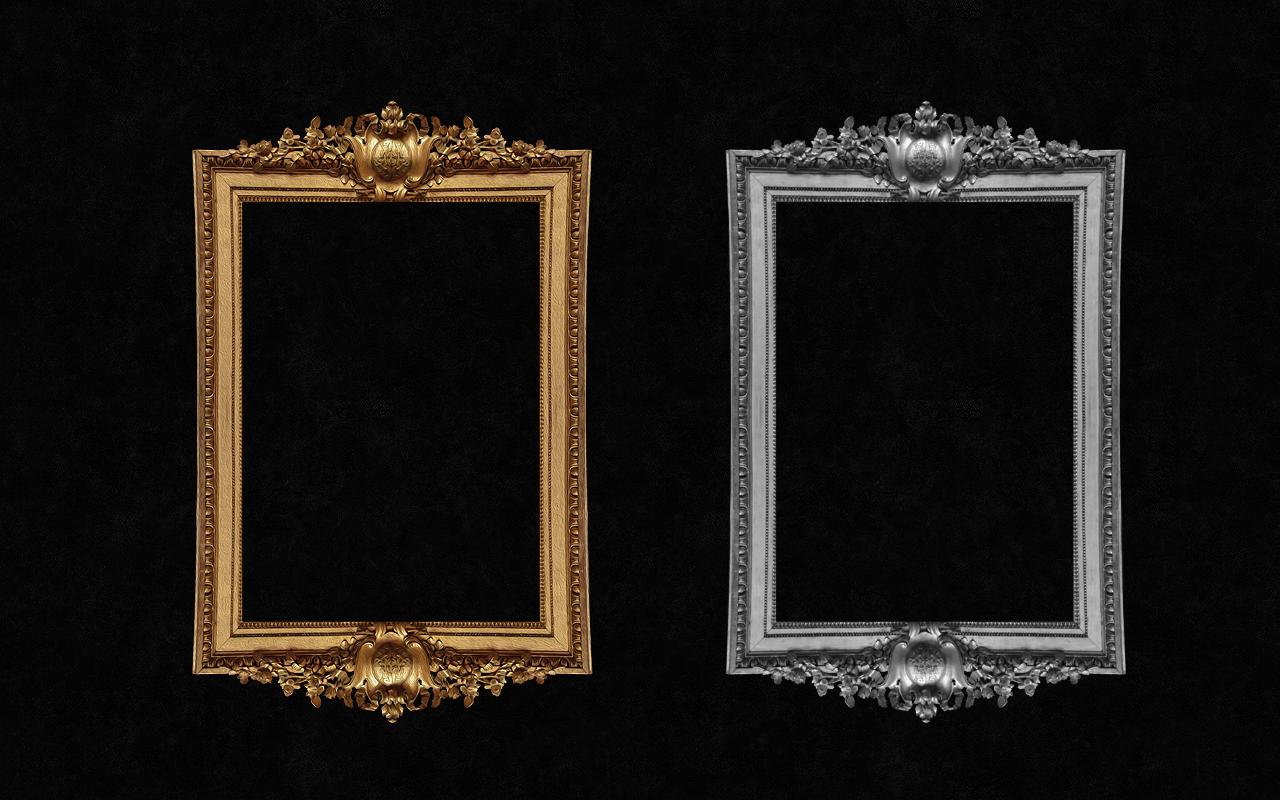 Decorative antique frame by Ronnan on DeviantArt