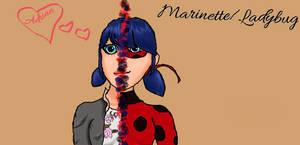 Marinette/Ladybug Fanart