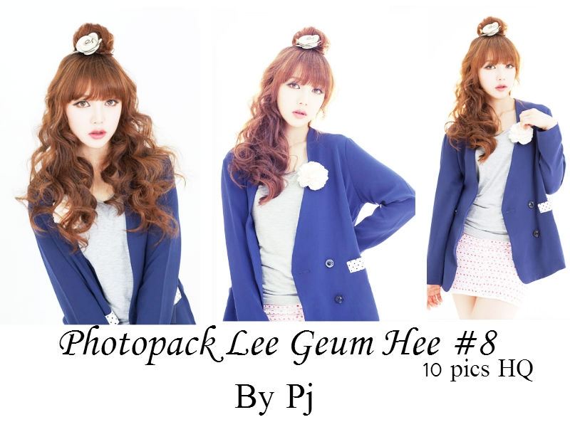 Photopack Lee Geum Hee#8 By Pj by LVTrangAnh