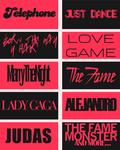 Lady Gaga Fonts