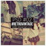 PSD- O2 #RetroVintage-Velfer