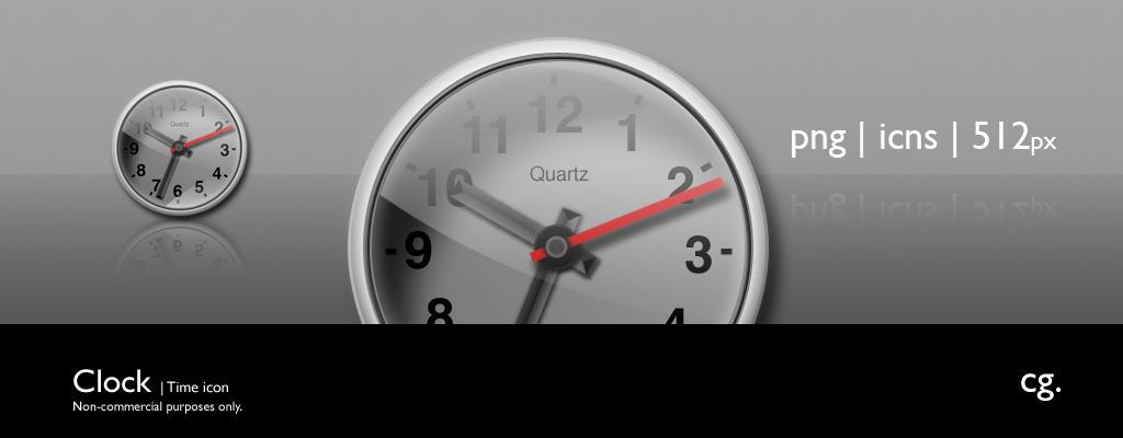 Clock by cgink