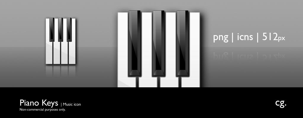 Piano Keys by cgink