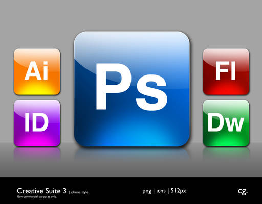 Creative Suite 3 iPhone Style