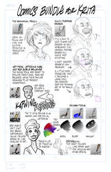 Krita comics and cartooning bundle by ezsaeger