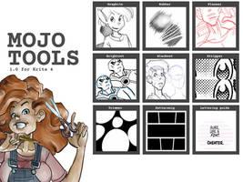 Mojo Tools 1.0 preset bundle for Krita