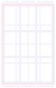 Mojo MOO comic book page template
