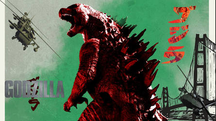 Windows Custom Theme - Godzilla (2014)