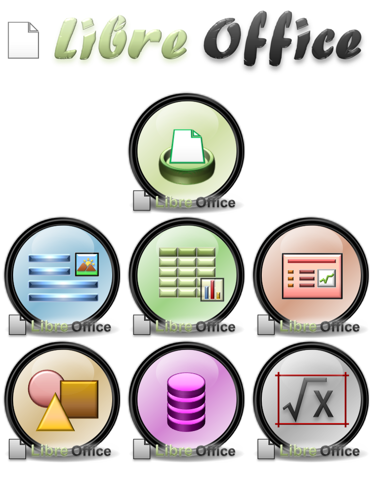 LibreOffice Dock Icons By SchnuffelKuschel On DeviantArt