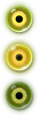 Glowing Eye Button by SchnuffelKuschel