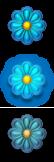 Flower Button by SchnuffelKuschel
