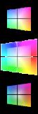 Windows 10 Rainbow Start Button